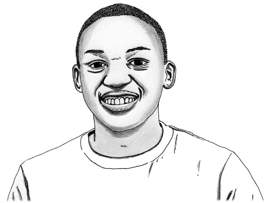 Nkosikhona Swartbooi | Il·lustració de José Antonio Soria | CC-BY